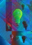 Digitaal licht stock illustratie