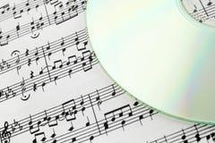Digitaal muziekconcept Stock Foto