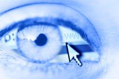 Digitaal oog Royalty-vrije Stock Afbeeldingen