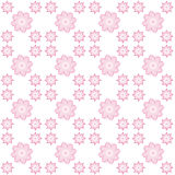 Digitaal roze bloemendocument Stock Foto
