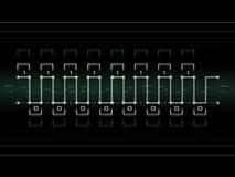 Digitaal Signaal stock illustratie