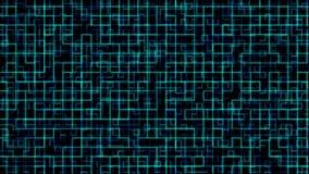 Digitaal Technologienet Geanimeerd net die technologie of wetenschap vertegenwoordigen royalty-vrije illustratie