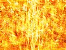 Digitaal vurig onweer stock illustratie