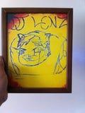 Digitaces Lenz Entertainment foto de archivo