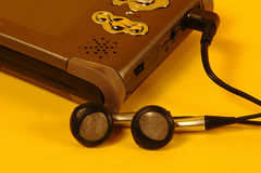 Digitaces Media Player fotos de archivo