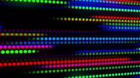 Digitaces que brillan intensamente coloridas Dots Loop Motion Background