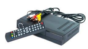 Digitaces TV Imagen de archivo libre de regalías