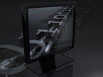 Digitahi TV illustrazione di stock