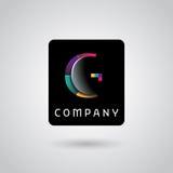 Digital övervakning servar logo Royaltyfria Foton