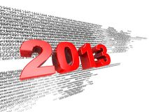 Digital 2013 Stock Photo