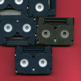 Digital 8mm Video Cassettes Royalty Free Stock Photography