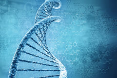 Digital-Abbildung von DNA Stockfoto