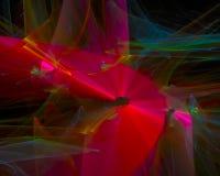 Digital abstract artwork energy concept template , wallpaper futuristic design fantasy. Digital abstract fractal, beautiful design fantasy edge concept artwork royalty free illustration