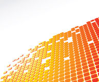 Digital abstract background Stock Photo
