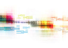 Digital abstract background Royalty Free Stock Image