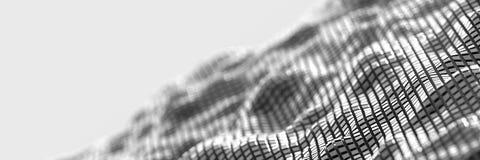 Digital abstract cubes background. Original three dimensional illustration, polygonal background royalty free illustration
