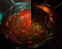 Digital abstract fractal sparkle science curve power , fantasy template design dark, artistic stock photos