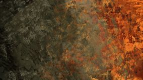 Digital abstract painting texture organic material geologic terrain beautiful landscape surface illustration background. Digital abstract painting texture stock illustration