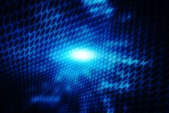 Digital Abstract technology background, cyber space background, futuristic background Royalty Free Stock Photography