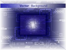 Digital abstract. Vector background. stock photo