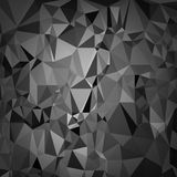 Digital abstraite Grey Background polygonal Photo libre de droits