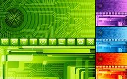 digital abstrakt design Arkivfoton