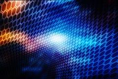 Digital abstrakt teknologibakgrund, cyberutrymmebakgrund, futuristisk bakgrund Arkivfoto