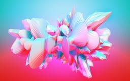 Digital-abstrakter Hintergrund Stockfoto