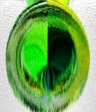 Digital abstraktion Abstrakt begrepp diagram abstraktion Royaltyfria Foton