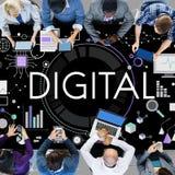 Digital Advanced Technology Innovation Electronics Concept Stock Photos