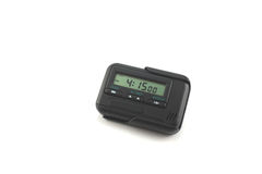 Digital alarm clock Stock Images