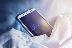 Free Digital Alarm Clock Stock Photos - 144334903
