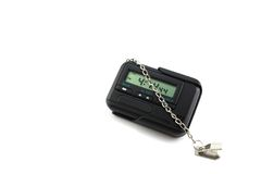Digital alarm clock Stock Photography