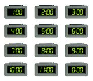 Digital alarm clock Royalty Free Stock Photo