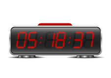 Digital alarm clock Royalty Free Stock Images