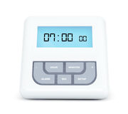 Digital Alarm Clock with LCD Display Royalty Free Stock Images
