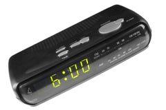 Digital alarm clock radio Stock Photo