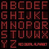 Digital Alphabet Stock Image
