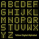 Digital Alphabet Royalty Free Stock Photography