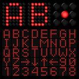 Digital alphabetic Stock Images