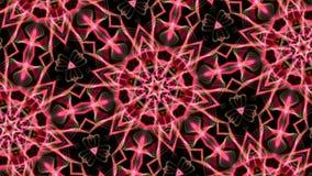 Animation of a kaleidoscopic Mandala stock footage