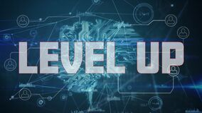 Level up text against data processing