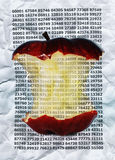 Digital-Apfel lizenzfreies stockbild