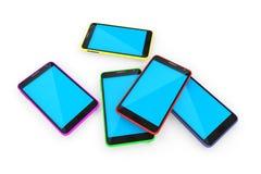 Digital apparater ilar telefonen Arkivfoton