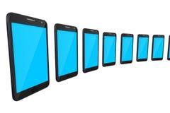Digital apparater ilar telefonen Arkivbild