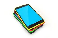 Digital apparater ilar telefonen Arkivbilder