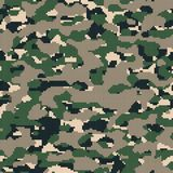 Digital Army Camouflage Royalty Free Stock Images