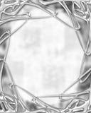 Digital Art 9. Digitally made blank spot for words Vector Illustration
