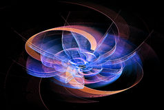 Digital art abstract composition suitable for background Stock Image