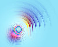 Digital art abstract composition suitable for background Stock Images